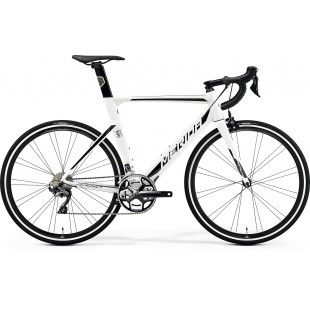 MERIDA REACTO 500  WHITE 9BLACK SILVER) 2020